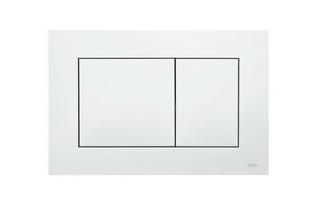 Plaque de commande TECENOW NF blanche - Gedimat.fr