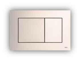 Plaque de commande TECENOW NF chromé mat - Gedimat.fr