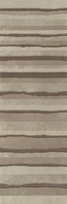 Décor LINED pour mur en faïence NUXE larg.25cm long.75cm coloris sand brown - Gedimat.fr