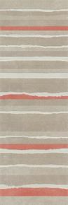 Décor LINED pour mur en faïence NUXE larg.25cm long.75cm coloris sand red - Gedimat.fr