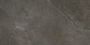 Carrelage pour sol intérieur en grès cérame émaillé CLAYSTONE larg.45cm long.90cm coloris gris foncé - Gedimat.fr