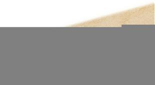 Plinthe pour carrelage sol en grès cérame émaillé CLAYSTONE larg.9,5cm long.60cm coloris beige - Gedimat.fr