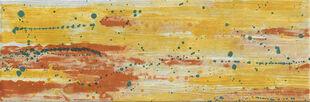 Décor DRIP 1 pour mur en faïence mate RIVERSIDE larg.20cm long.60cm coloris Hot - Gedimat.fr