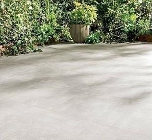 Carrelage pour sol extérieur en grès cérame émaillé SINOPE 45cmx45cm coloris Beige - Gedimat.fr