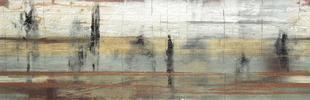 Décor IMPRESSIONS pour mur en faïence satinée rectifiée MEGALOS HIPSTER larg.29,5cm long.90,1cm - Gedimat.fr