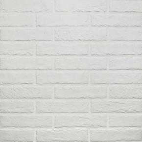 Briquettes en grès cérame émaillé TRIBECA BRICK larg.6cm long.25cm coloris white - Gedimat.fr