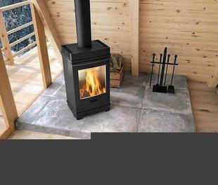 Carrelage pour sol intérieur en grès cérame coloré dans la masse naturel rectifié REDEN dim.60cm long.60cm coloris grey - Gedimat.fr