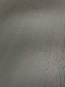 Parquet contrecollé monolame choix classic nature EXTRALARGE ép.13mm larg.185mm long.2200mm Chêne verni gris rustique - Gedimat.fr