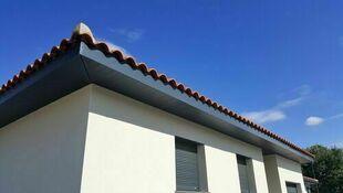 planche de rive pvc cellulaire gris anthracite. Black Bedroom Furniture Sets. Home Design Ideas