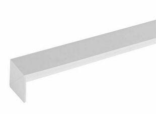 Angle extérieur 60 x 60 x 300 mm Blanc - Gedimat.fr