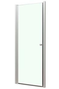 Porte pivotante MARINE long.90cm haut.195cm verre transparent - Gedimat.fr