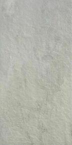 Carrelage pour sol extérieur en grès cérame émaillé coloré dans la masse rectifié IT ROCKS larg.45cm long.90cm coloris ash - Gedimat.fr