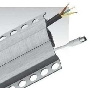 Profil listel aluminium  long.1m - Gedimat.fr