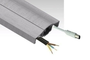 Profil aluminium TURN TO FIX recoupable L.200cm - Gedimat.fr