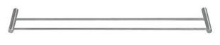 Porte serviette 2 barres PHILADELPHIA  diam.19mm long.600mm finition satin - Gedimat.fr