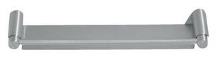 Etagère inox PHILADELPHIA long.300mm larg.80mm prof.33mm finition satin - Gedimat.fr