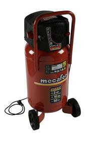 Compresseur 50L FIFTY 2 HP Vertical sans huile MECAFER - Gedimat.fr