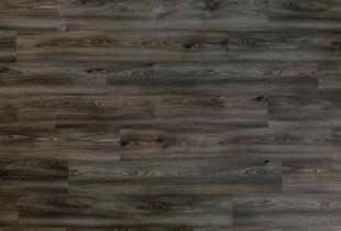 Sol vinyle à clipser PURE CLICK40 lames ép.5mm larg.204mm long.1326mm chêne gris foncé 996E - Gedimat.fr