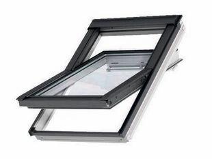 Fenêtre confort VELUX GGL SK06 type 2076 WHITE FINISH Haut.118 cm larg.114 cm - Gedimat.fr
