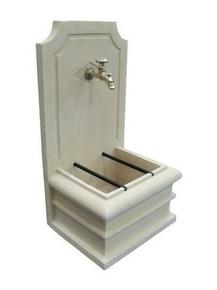 Fontaine saphir finition pierre naturelle H.90 x L.48 x l.40 cm - Gedimat.fr