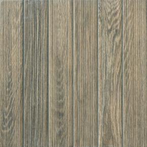 Carrelage pour sol extérieur en grès cérame émaillé COTTAGE dim.45x45cm coloris wengé - Gedimat.fr