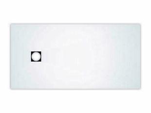 Revêtement de douche prêt à poser vidage excentré FUNDO TOP long.180cm larg.90cm blanc - Gedimat.fr