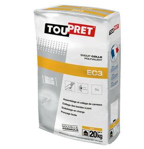 Enduit colle polyvalent poudre Toupret EC3 sac de 20kg - Gedimat.fr