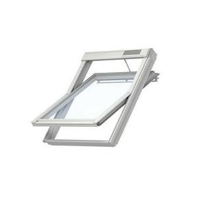 Fenêtre confort motorisée VELUX GGU INTEGRA MK06 type 007621 haut.118cm larg.78cm - Gedimat.fr