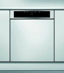 Lave vaisselle 14 couverts intégrable 8 programmes WHIRLPOOL bandeau inox - Gedimat.fr