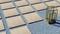 Grès cérame antidérapant décoré naturel rectifié Dim.60x60cm ép.20mm coloris beige - Gedimat.fr