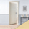 Porte seule PRIMA 204x93cm chêne blanchi - Gedimat.fr