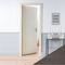 Porte seule PRIMA 204x93cm chêne gris - Gedimat.fr
