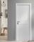 Porte seule SOUND 204x83cm blanc structuré - Gedimat.fr