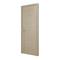 Bloc-porte HEGOA 3D parement chêne massif brossé - coloris chêne brossé blanchi haut.204cm larg.83cm poussant gauche - Gedimat.fr