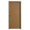 Bloc-porte HEGOA parement chêne massif brossé - coloris chêne brossé brun cuir haut.204cm larg.83cm poussant gauche - Gedimat.fr