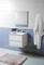 Meuble à suspendre JUMP Long.60cm Haut.48cm prof.45cm Coloris blanc - Gedimat.fr