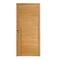 Bloc-porte HEGOA 3D parement chêne massif brossé - coloris chêne clair brossé haut.204cm larg.83cm poussant droit - Gedimat.fr