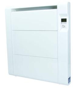 Radiateur à inertie sèche en pierre HERMANO Blanc 1500W - Gedimat.fr