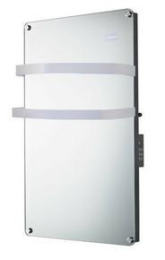 Sèche-Serviettes miroir rayonnant 1500W - Gedimat.fr