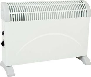 Convecteur TURBO PRIMO Long.5,9cm Haut.4,00cm Ép.13mm coloris Blanc 2000W - Gedimat.fr