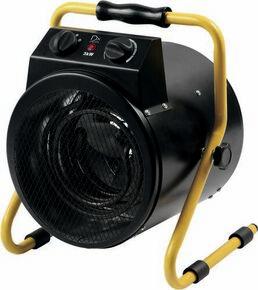 Canon à chaleur électrique 3000W Long.33cm Haut.38cm Ép.14 cm - Gedimat.fr