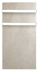 Sèche-serviettes inertie Sable blanc 1000W - Gedimat.fr