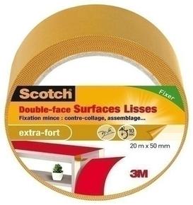 DOUBLE FACE SURFACES LISSES 20X50 - Gedimat.fr