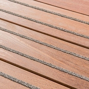 Lame de terrasse Cumaru anti-dérapante ép.21mm larg.145mm long.3.05m - Gedimat.fr
