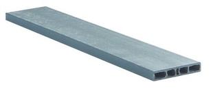 Bordure ECOPLANC L.120cm x l.22cm x P.4cm Coloris gris ardoise - Gedimat.fr