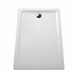 Receveur rectangulaire ARKITEKT en céramique Long.120cm Haut.5,5cm larg.80cm Coloris blanc - Gedimat.fr