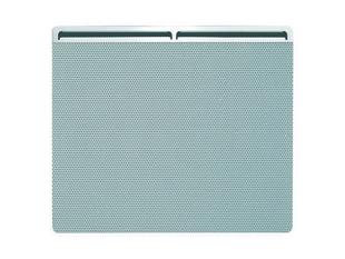 Panneau rayonnant életronique EDISON Long.60cm modèle Horizontal Haut.45cm Ép.11,5cm 1000W Blanc - Gedimat.fr