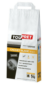 Enduit CACHET BLANC 2 en 1 Poudre 5kg - Gedimat.fr