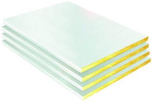 Laine de verre SHEDISOL LUMIERE A2 revêtue pare-vapeur - 1,985x1m Ep.80mm - R=2,25m².K/W. - Gedimat.fr