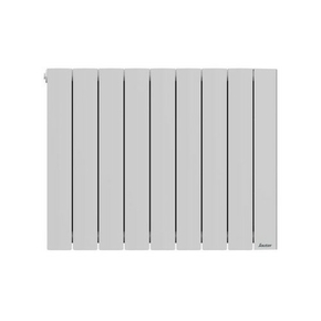 Radiateur OROSI Blanc 1500 W Long.73,70cm Haut.58,50cm Ép.13cm SAUTER - Gedimat.fr